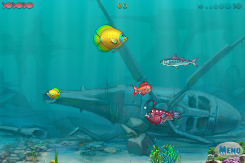 Screenshot iFish Adventure