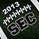 2013 SEC College Football Schedule